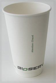 16 oz Air Gap Double Wall Bioserv