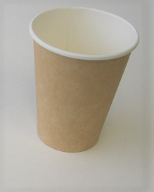 12 oz Plain Single Wall Kraft