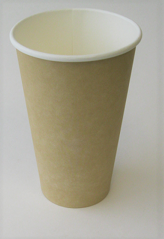 16 oz Plain Single Wall Kraft