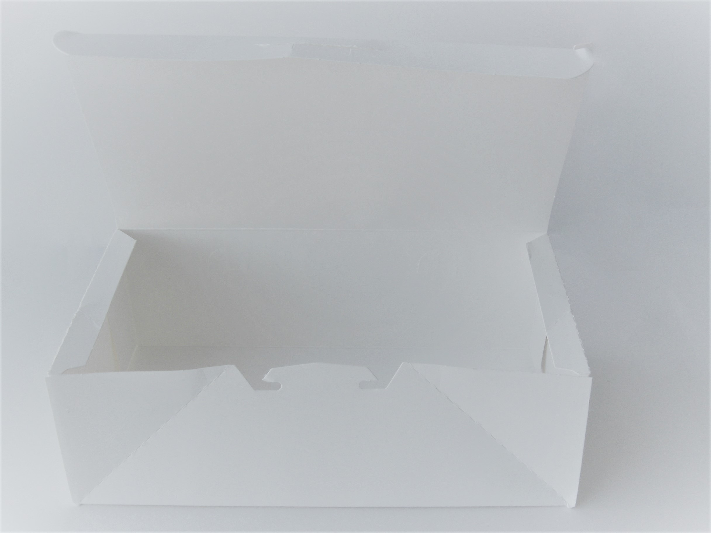 White Plain vented Snack boxes
