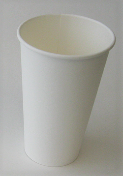 16 oz Plain Single Wall Hot Cup
