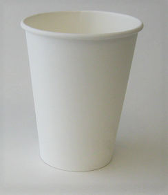 12 oz Plain Single Wall Hot Cup