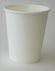 8 Oz Plain Single Wall Hot Cup