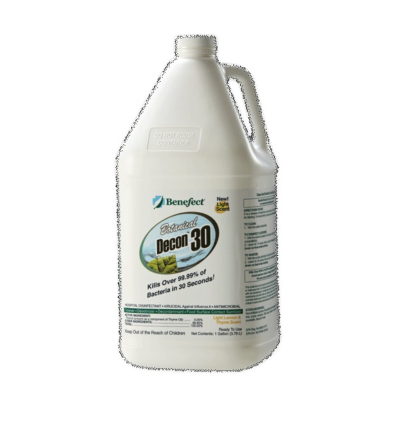 Benefect Decon 30 Botanical Disinfectant