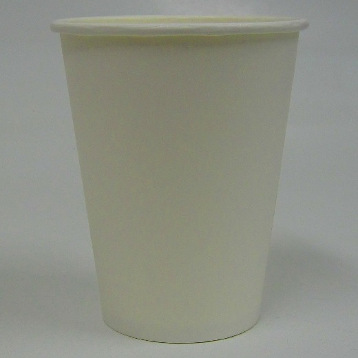 White Plain Single Wall Hot Cup