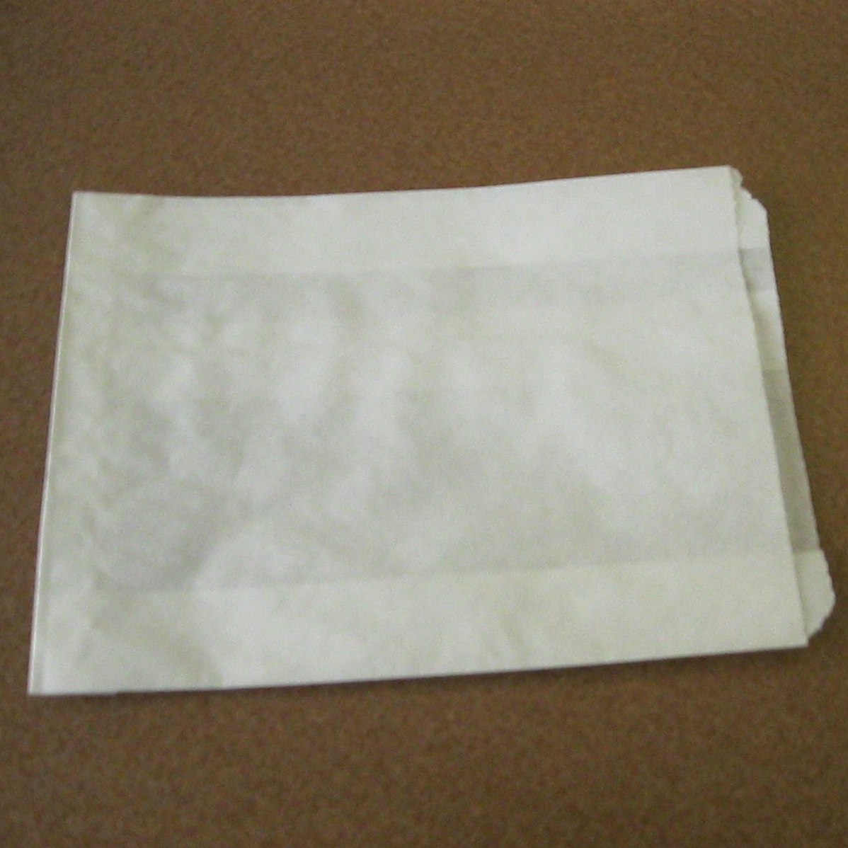 "6"" White Sandwich Paper Bag"