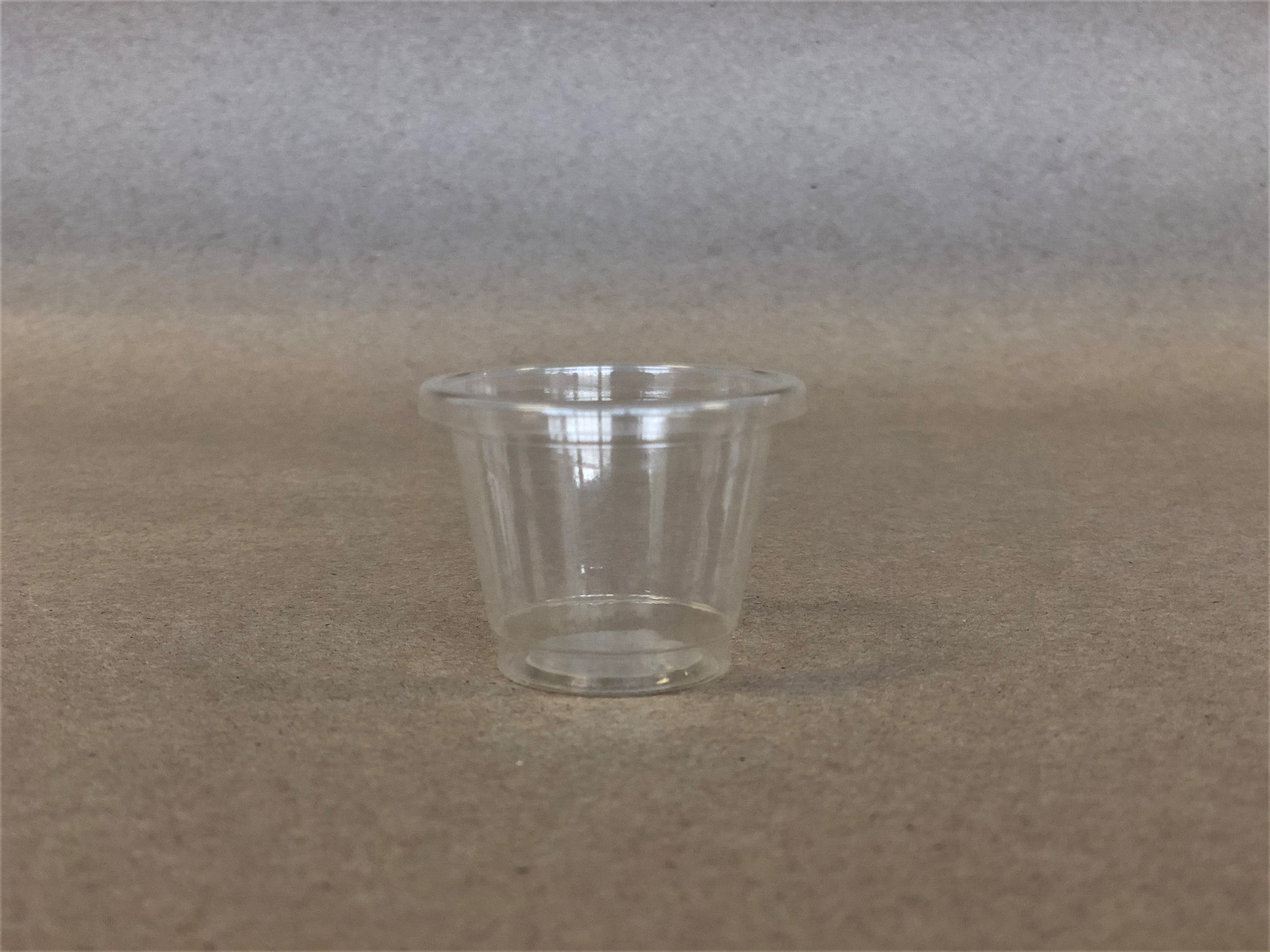 1oz Clear Sampling/Shooter Cup