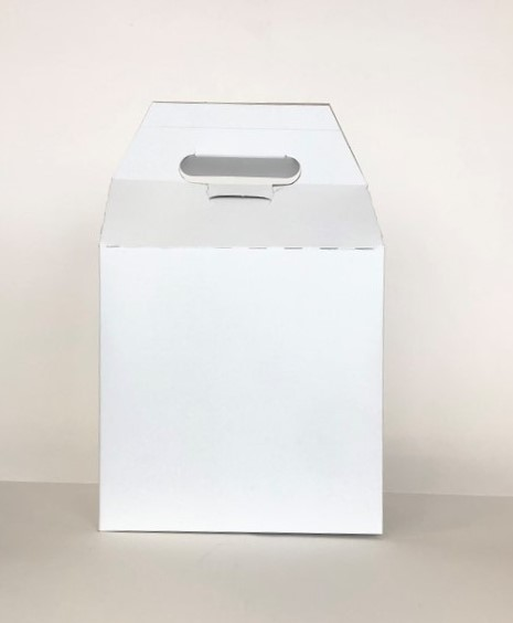 "Gable Box White 8""x 5""x 8"""
