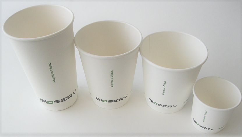 Air Gap Double Wall Bioserv Hot Cups