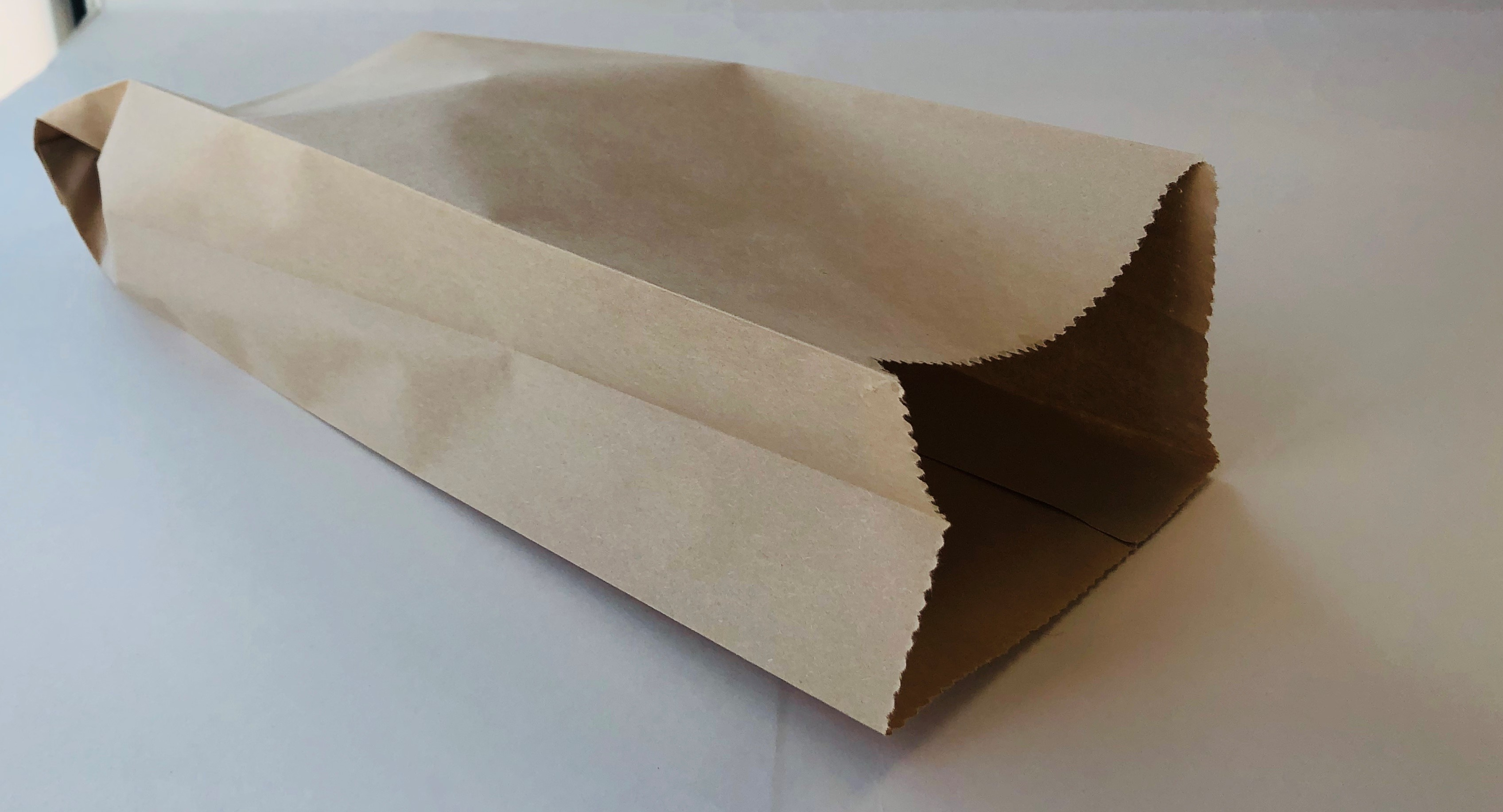 Plain Kraft Paper Bread Bag