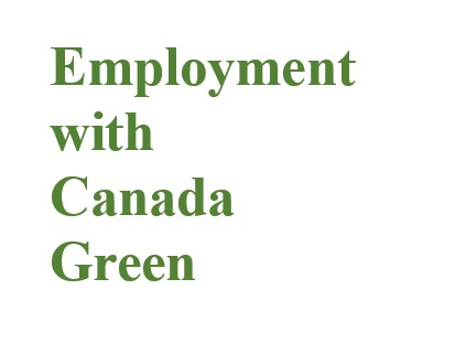 Employment with Canada Green