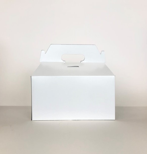 "Gable Box White 8""x 5.5""x 5"""