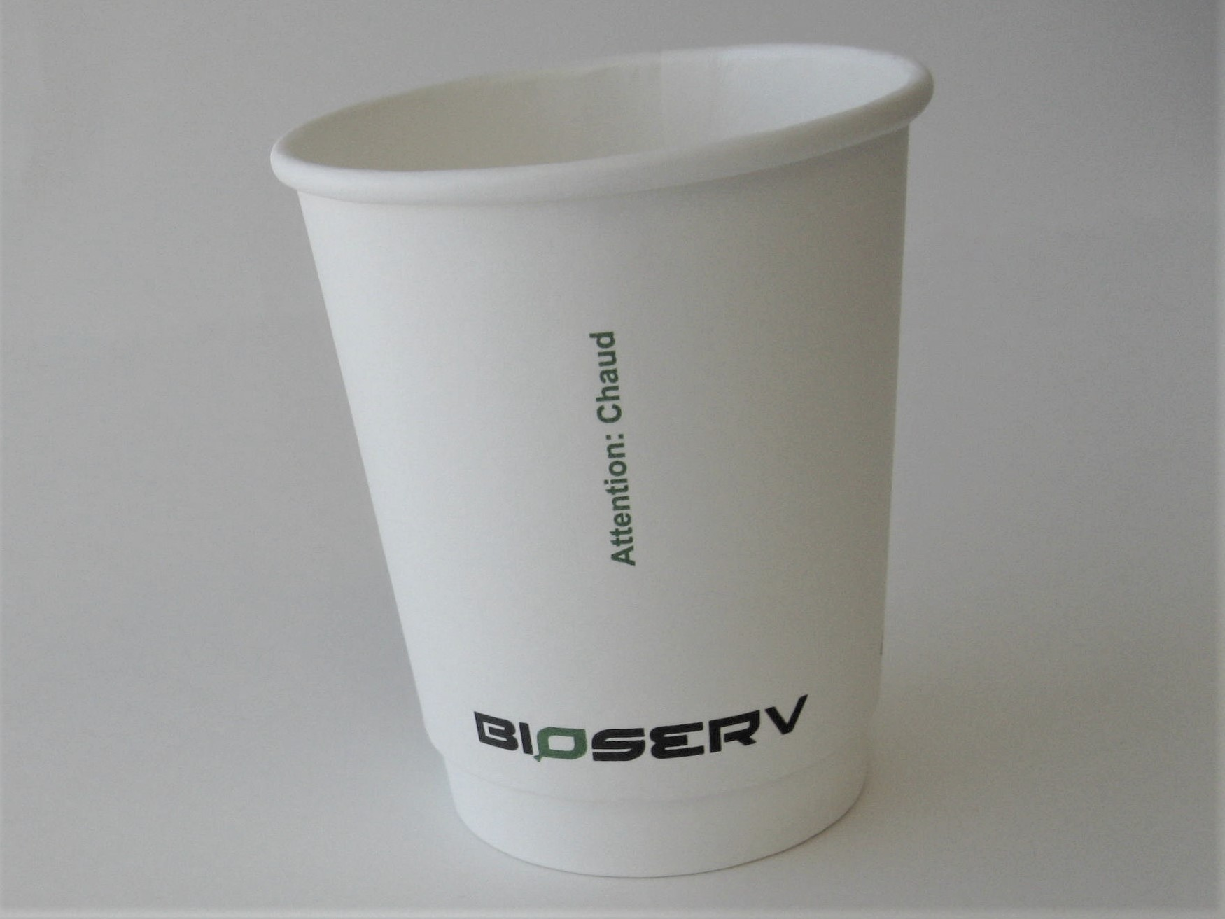 8 oz Air Gap Double Wall Bioserv