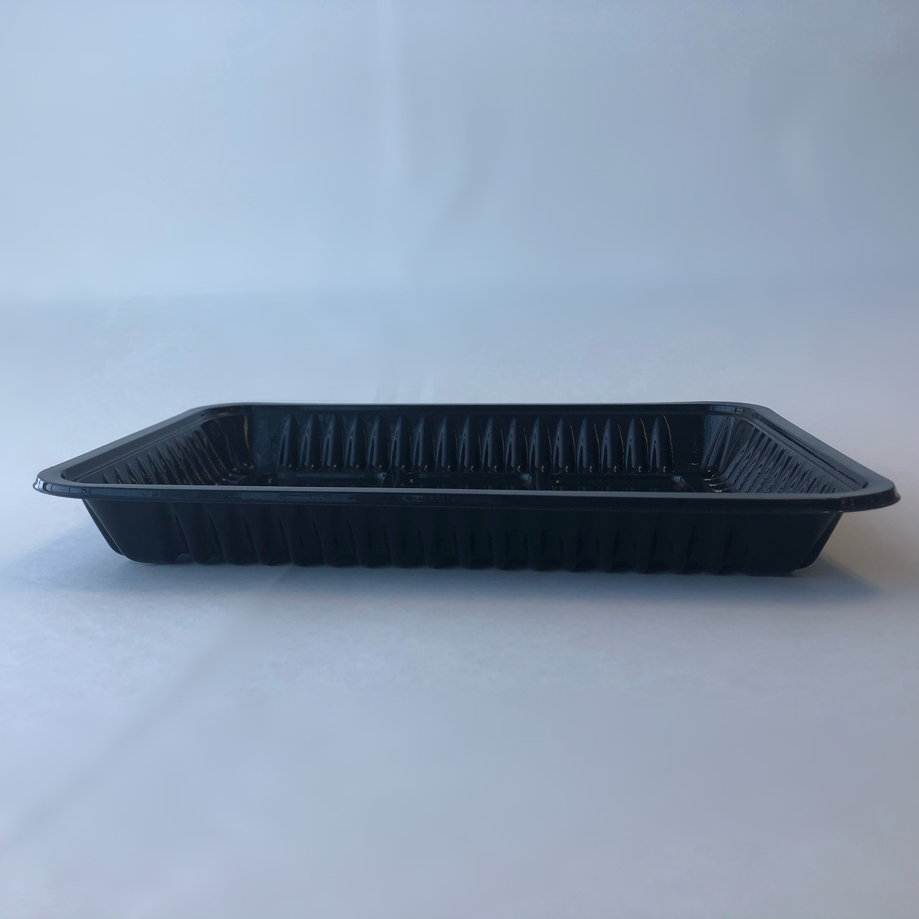 PLA Meat Tray #65 / 250x188x36mm/Black/500cs