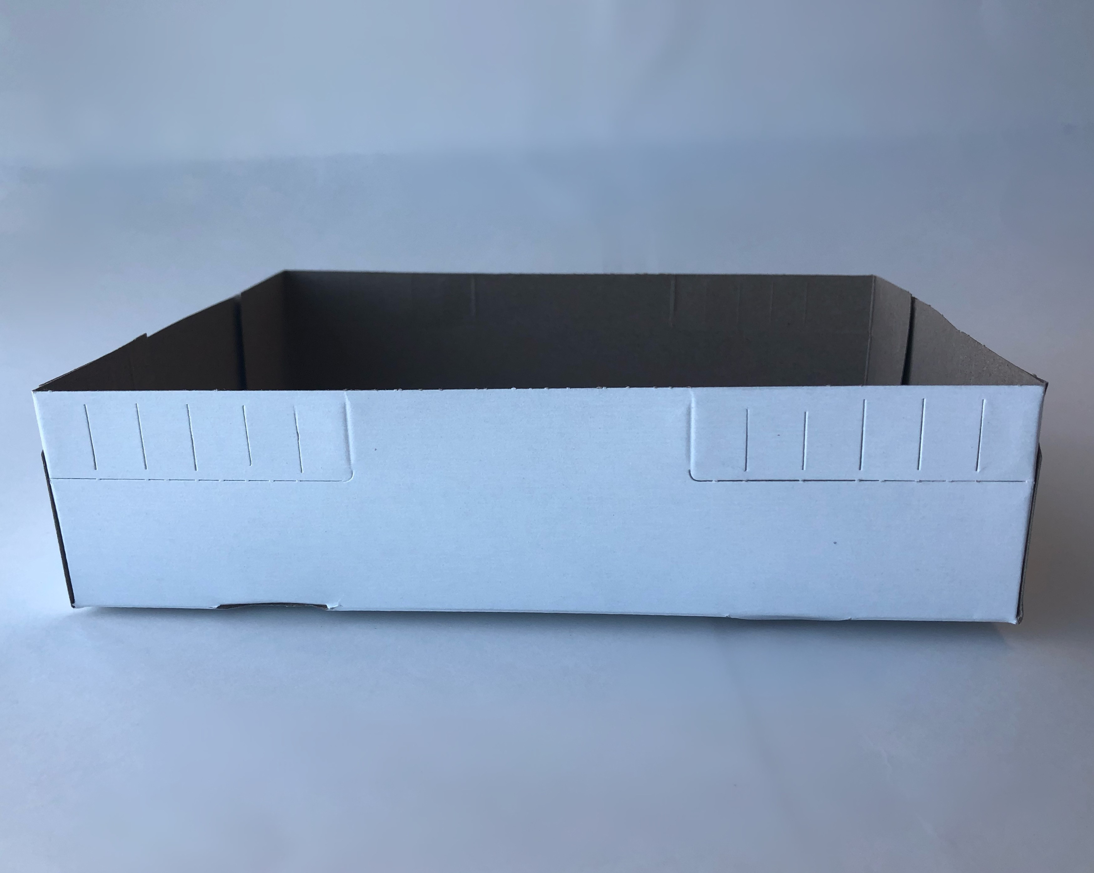 "Carry out tray 9""x7""x2.5""/ 500cs"