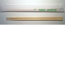 "9"" Bamboo Chopsticks"